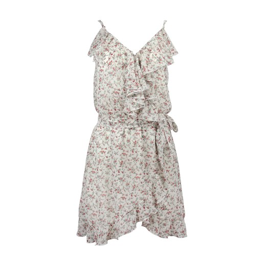 Sukienka ANDORA z dekoltem w serek z wiskozy pcbt6