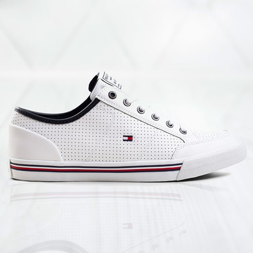 Tommy Hilfiger Core Corporate Leather Sneaker FM0FM02677YBS Tommy Hilfiger  43 Sneakers.pl okazja