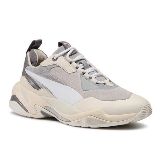 Sneakersy PUMA - Thunder Colour Block Wn's 370960 02 Quarry/White Smoke   38.5 okazyjna cena eobuwie.pl