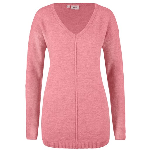 Sweter damski Bonprix z dekoltem v Odzież Damska UC TMQI
