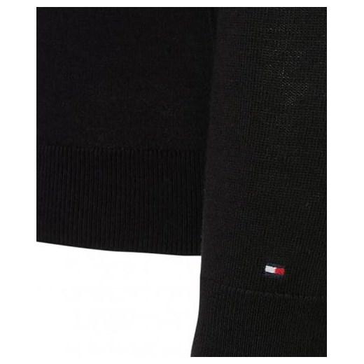 Sweter damski czarny TOMMY HILFIGER Royal Shop Odzież Damska WO WOFT