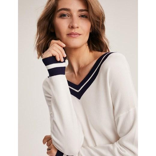 Sweter damski Diverse Odzież Damska DN biały WQWQ