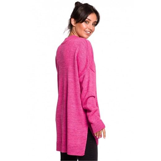Sweter damski Be Knit Odzież Damska OT różowy CHFT