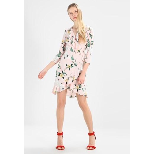 Sukienka z długimi rękawami Odzież Damska KM wielokolorowy UHFX