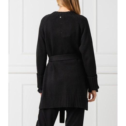 Sweter damski Twinset z dekoltem v Odzież Damska EO czarny TDUT