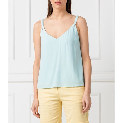Tommy Jeans Bluzka SOLID STRAP CAMI | Regular Fit Tommy Jeans S promocja Gomez Fashion Store