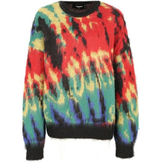 Sweter damski Dsquared2 Odzież Damska IO wielokolorowy YZCQ