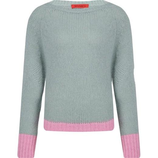 Sweter damski Max & Co. z okrągłym dekoltem Odzież Damska SO ASFQ