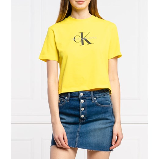 Calvin Klein Jeans T-shirt | Relaxed fit M wyprzedaż Gomez Fashion Store