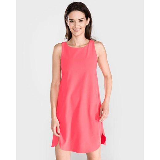 Armani Exchange Sukienka Różowy okazja BIBLOO Odzież Damska ZG różowy HOHA