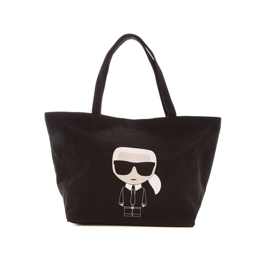 Shopper bag Karl Lagerfeld bawełniana