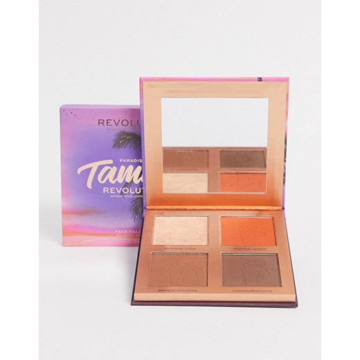 Revolution i Tammi Golden – Glow Deep – Paleta do makijażu-Wielokolorowy Revolution No Size Asos Poland