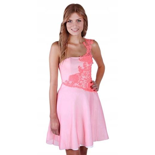 Sukienka Odzież Damska SA różowy FAWM