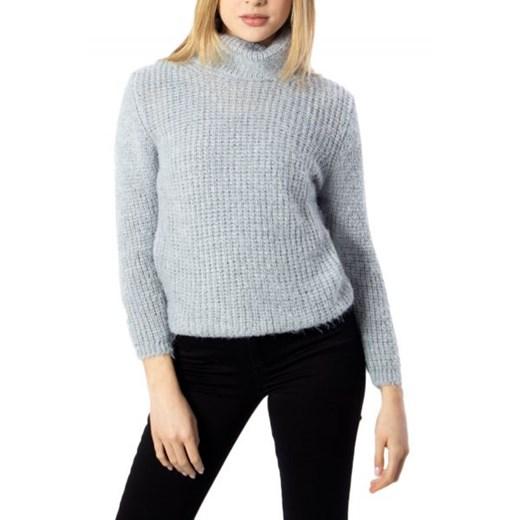 Sweter damski One.0 z poliamidu Odzież Damska XZ szary MOSG