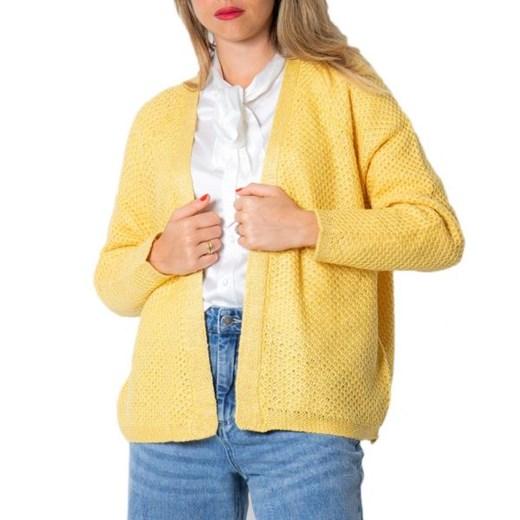 Sweter damski ONLY Odzież Damska UD żółty GDDB