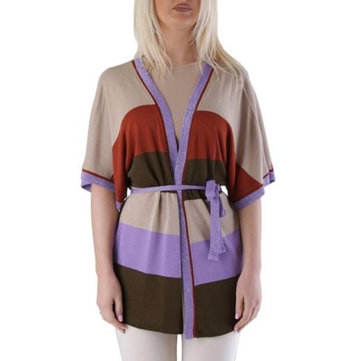 Cristina Gavioli Kardigan Kobieta - WH4-CP9155 Wielokolorowy Italian Collection Odzież Damska HH TZFK