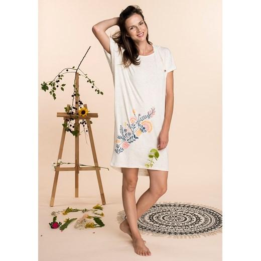 Sukienka Key etno Odzież Damska KV szary TYRQ