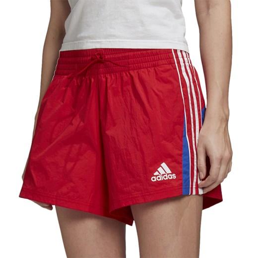 Szorty Adidas sportowe Odzież Damska IM czerwony GOZO