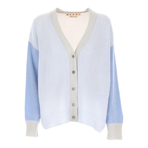 Sweter damski z dekoltem w literę v niebieski casualowy Odzież Damska PK niebieski MOIS