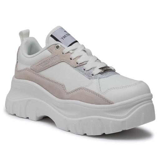 Sneakersy Trussardi Jeans 79a00486 P200 Ceny I Opinie Ceneo Pl