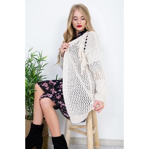 Sweter damski Olika Odzież Damska MK biały IPWR