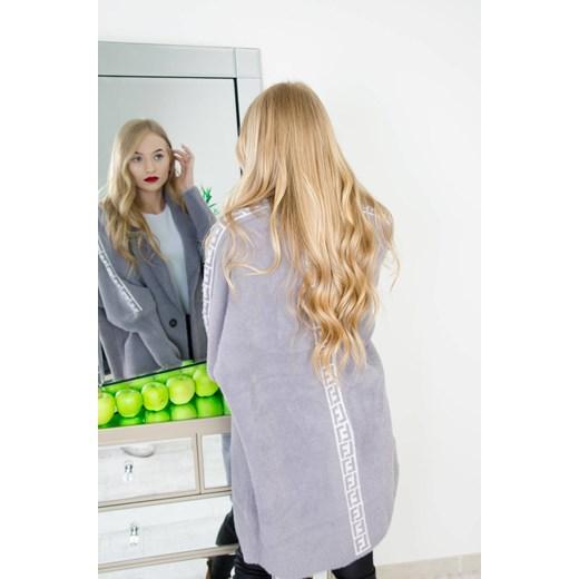 Sweter damski Olika z dekoltem v Odzież Damska LG szary XUZP