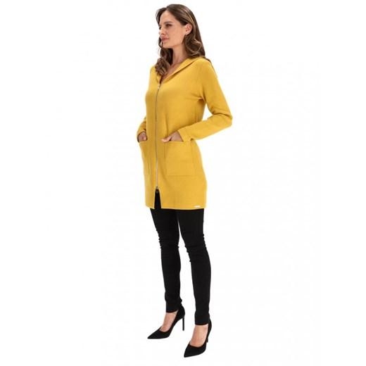 Sweter damski Rino & Pelle Odzież Damska NC żółty UUDX
