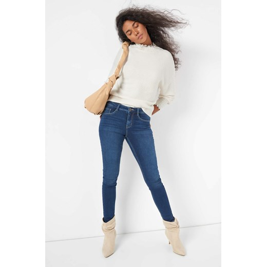 Sweter damski ORSAY koronkowy Odzież Damska JX biały MVRU