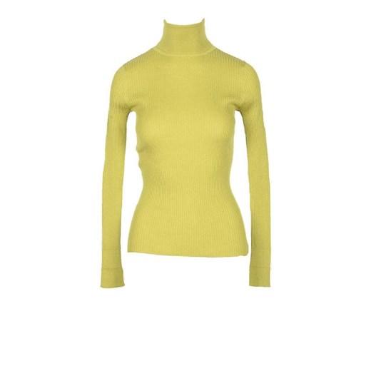 Sweter damski Snobby Sheep kaszmirowy Odzież Damska TT żółty JEDI