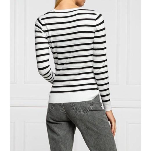Sweter damski Guess Odzież Damska RP biały SYUV