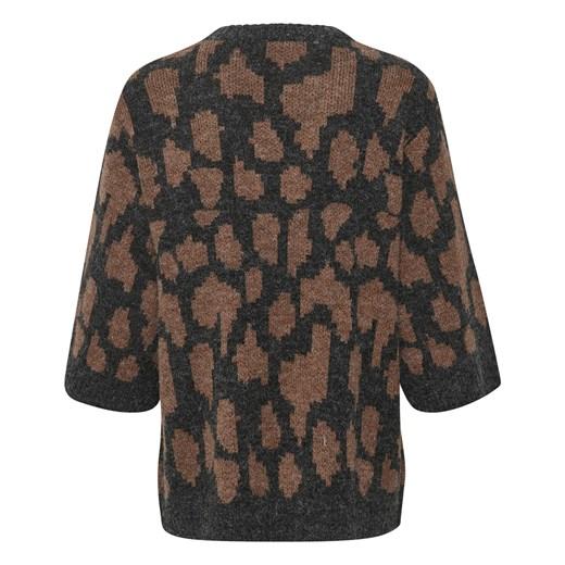 Cath Pullover Animal print Saint Tropez showroom Odzież Damska UK brązowy LQRX
