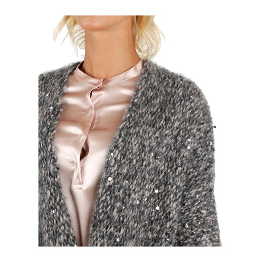 Sweater Brunello Cucinelli showroom Odzież Damska FD szary QCDE
