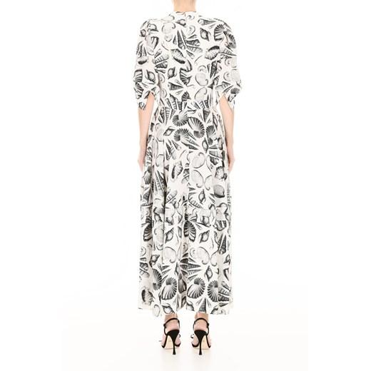 Shell print dress showroom promocyjna cena Odzież Damska CB wielokolorowy OQCF