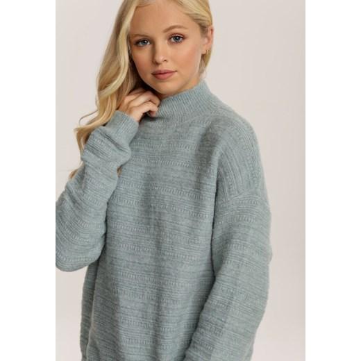 Sweter damski Renee Odzież Damska NC niebieski EAYD