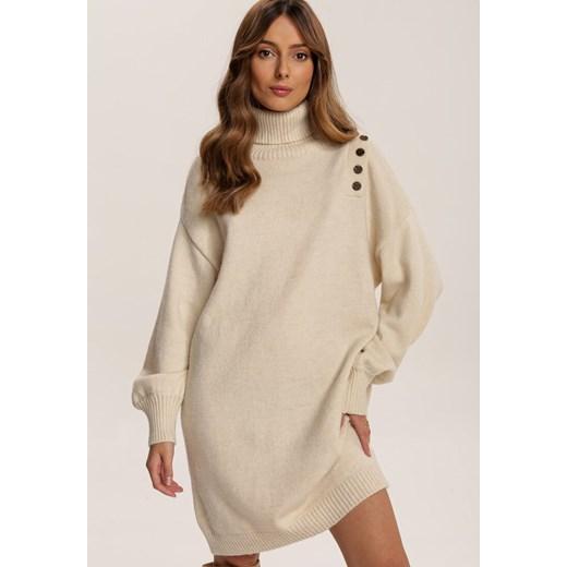 Sweter damski Renee Odzież Damska AD beżowy KQQB