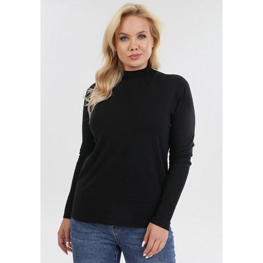 Sweter damski czarny Born2be casual Odzież Damska EK czarny JHAE