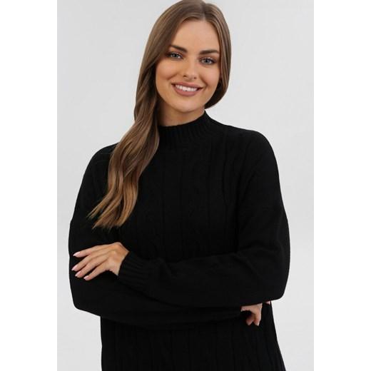 Sweter damski Born2be Odzież Damska ZY czarny PCJH