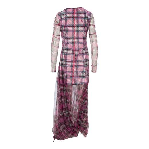 Maxi dress Y/project wyprzedaż showroom Odzież Damska JV różowy VWWF