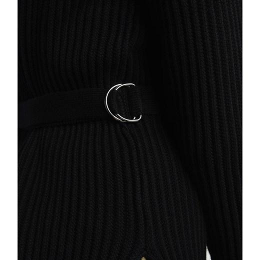 Sweter damski Armani Exchange z okrągłym dekoltem Odzież Damska BZ czarny RDOW