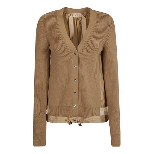 Sweater N21 showroom Odzież Damska MB brązowy LBWN
