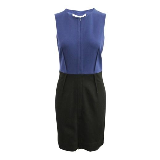 Dress Diane Von Furstenberg okazja showroom Odzież Damska DP niebieski UXBI
