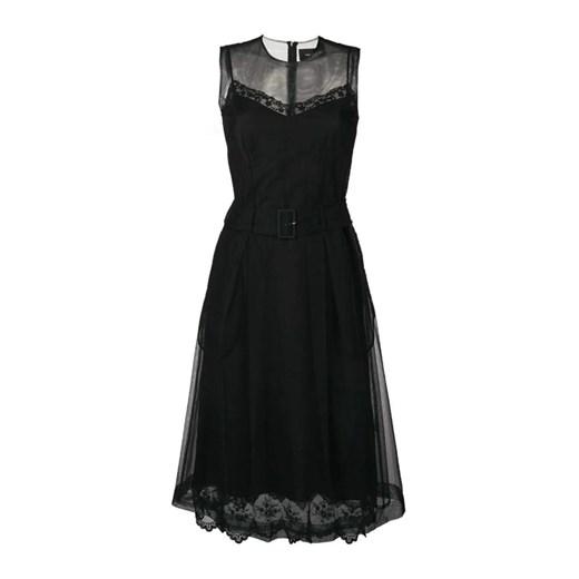 Dress Simone Rocha showroom Odzież Damska GI czarny WBJX