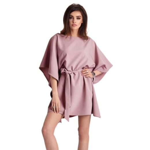 Sukienka Lotta Ivon showroom Odzież Damska QF różowy EFGX