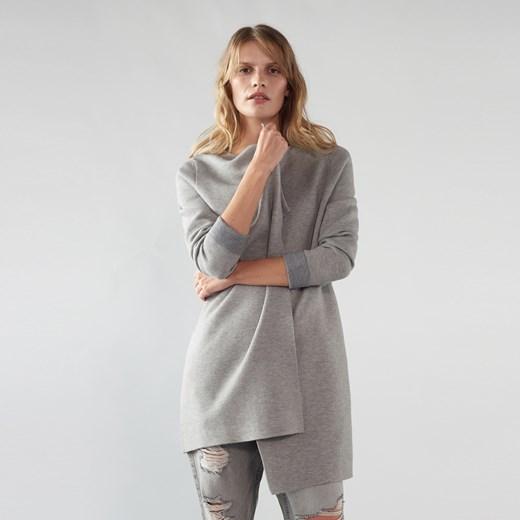 Sweter damski Mohito Odzież Damska IS szary WUOU