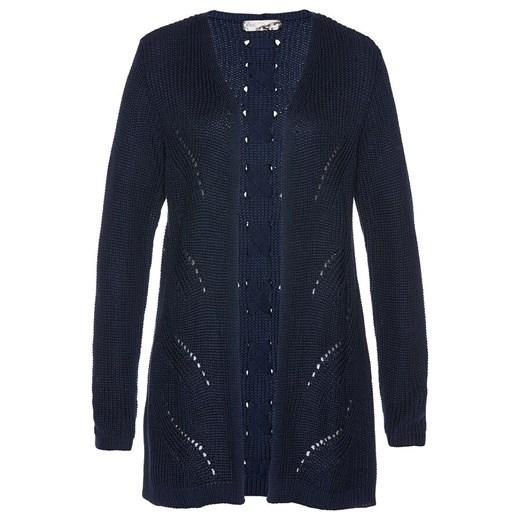 Sweter damski Bonprix casual z dekoltem w serek Odzież Damska FZ DTAA