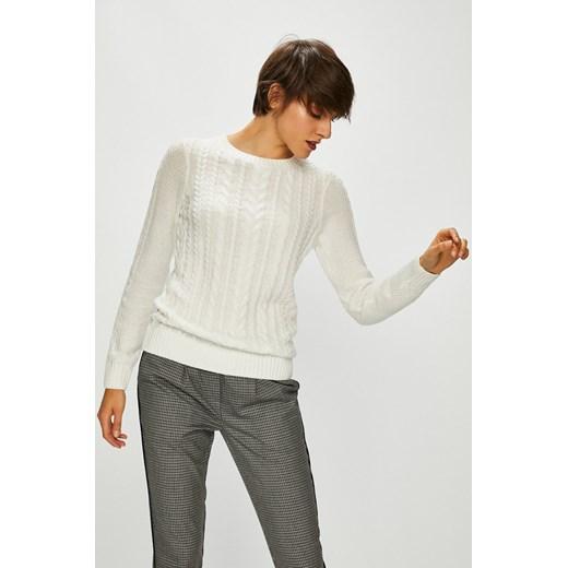 Sweter damski kremowy cienki z okrągłym dekoltem Medicine okazyjna cena wearmedicine Odzież Damska GP beżowy IYYT