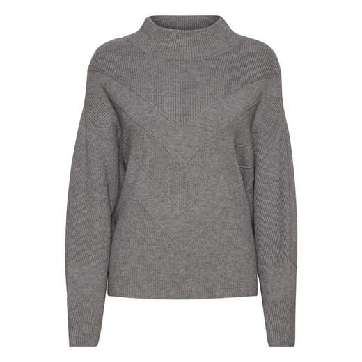 Sweter damski Odzież Damska WT szary LDNH