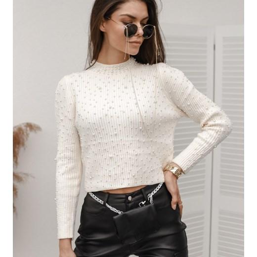Sweter damski Hollywood Dream Odzież Damska EN biały GISX