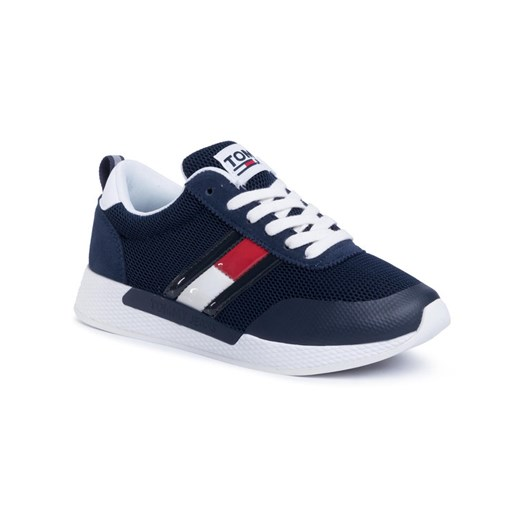 Tommy Jeans Sneakersy Technical Flexi Runner EN0EN00875 Granatowy Tommy Jeans 40 okazja MODIVO