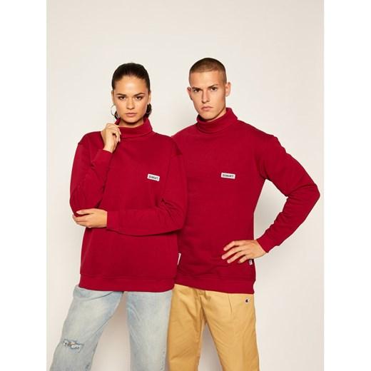 Sweter damski czerwony Diamante Odzież Damska TG PSIM